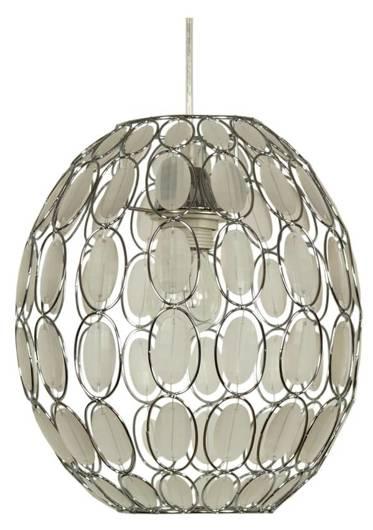 LAMPA SUFITOWA WISZĄCA CANDELLUX SELMA 31 02853 E27 BIAŁY